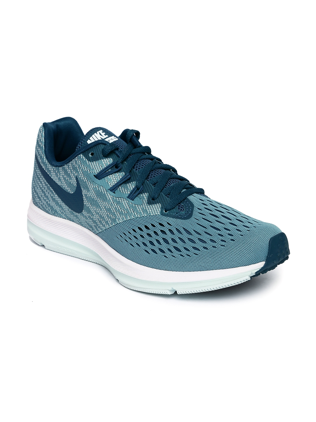 703fd7770272 Buy Nike Women Teal Blue ZOOM WINFLO 4 Running Shoes - Sports Shoes ...