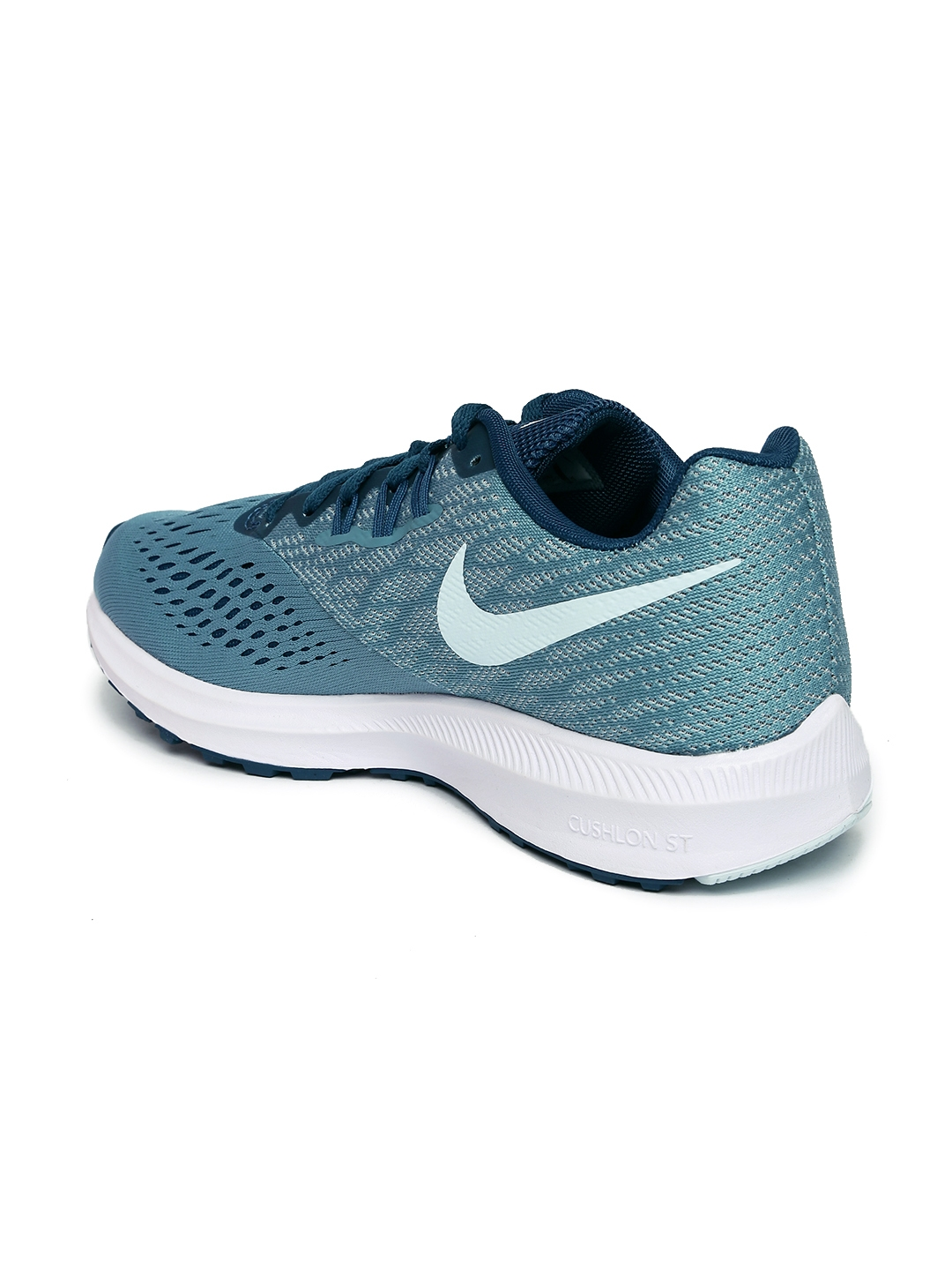 c27a936c3bf4 Buy Nike Women Teal Blue ZOOM WINFLO 4 Running Shoes - Sports Shoes ...