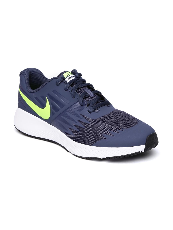 d9a292e0d86b Buy Nike Boys Navy Blue STAR RUNNER Running Shoes - Sports Shoes for ...
