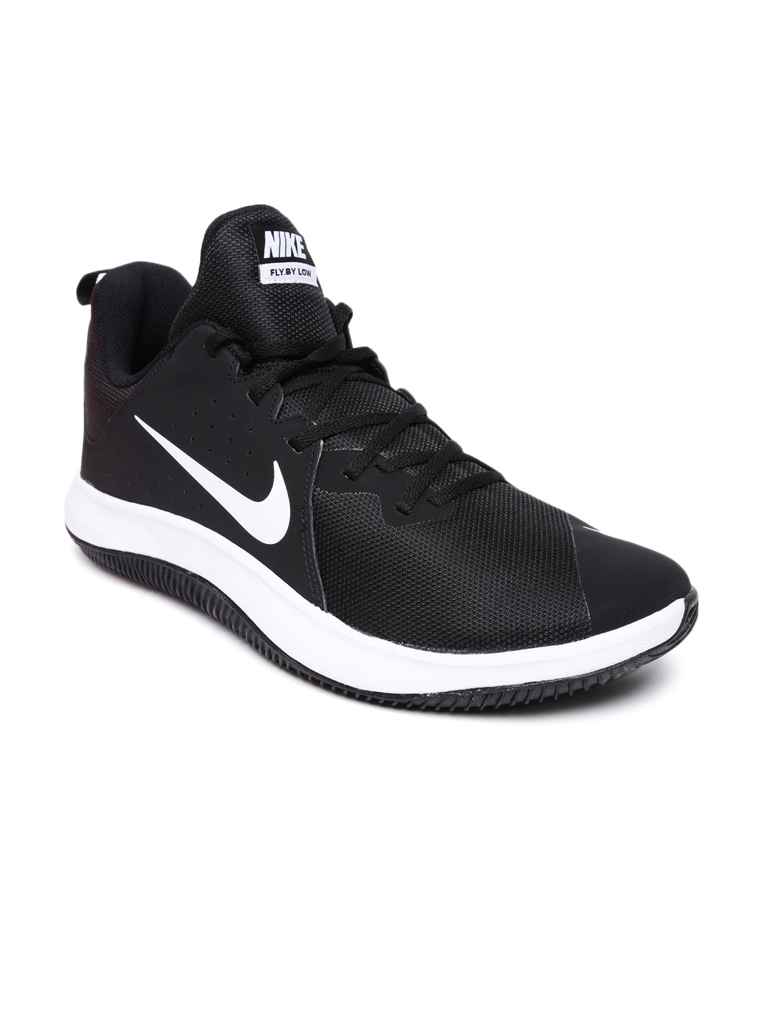 a423a1f8e44 Buy Nike Men Black FLY.BY LOW Basketball Shoes - Sports Shoes for ...