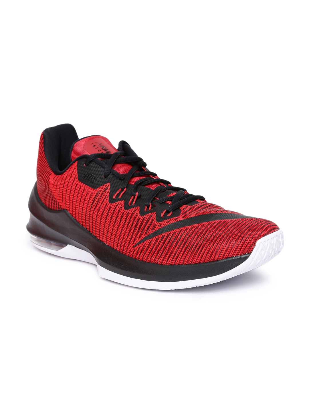 Buy Nike Men Red AIR MAX INFURIATE 2 LOW Basketball Shoes - Sports ... f2a0b16d2aa9