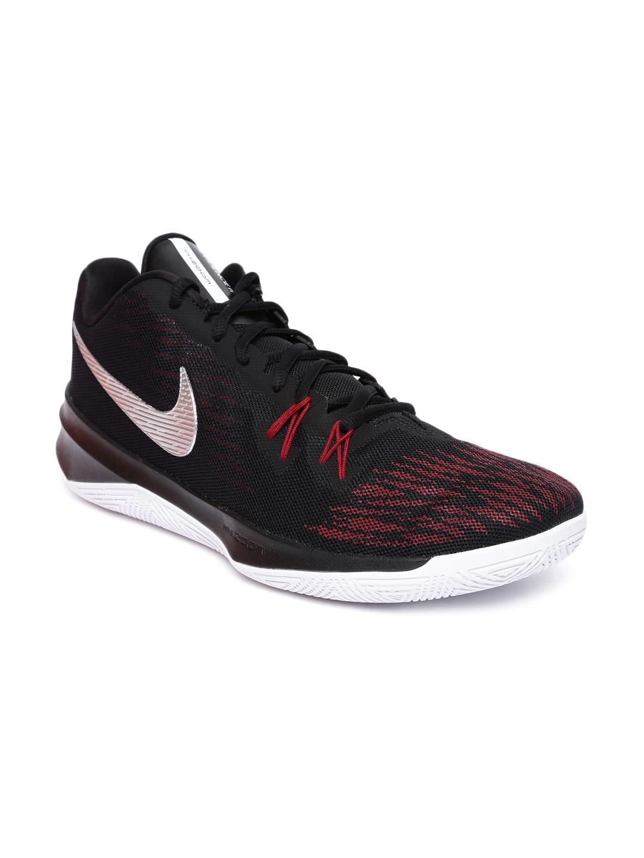 5c5b4f2a43803 Buy Nike Men Black ZOOM EVIDENCE II Textile Basketball Shoes ...