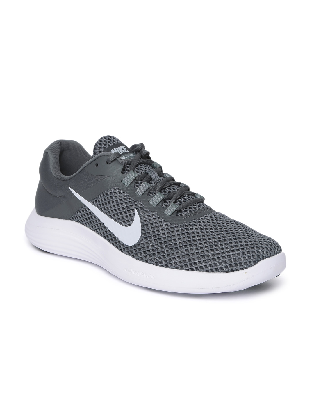 Buy Nike Men Grey LUNARCONVERGE 2 Running Shoes - Sports Shoes for ... 11aefbc46