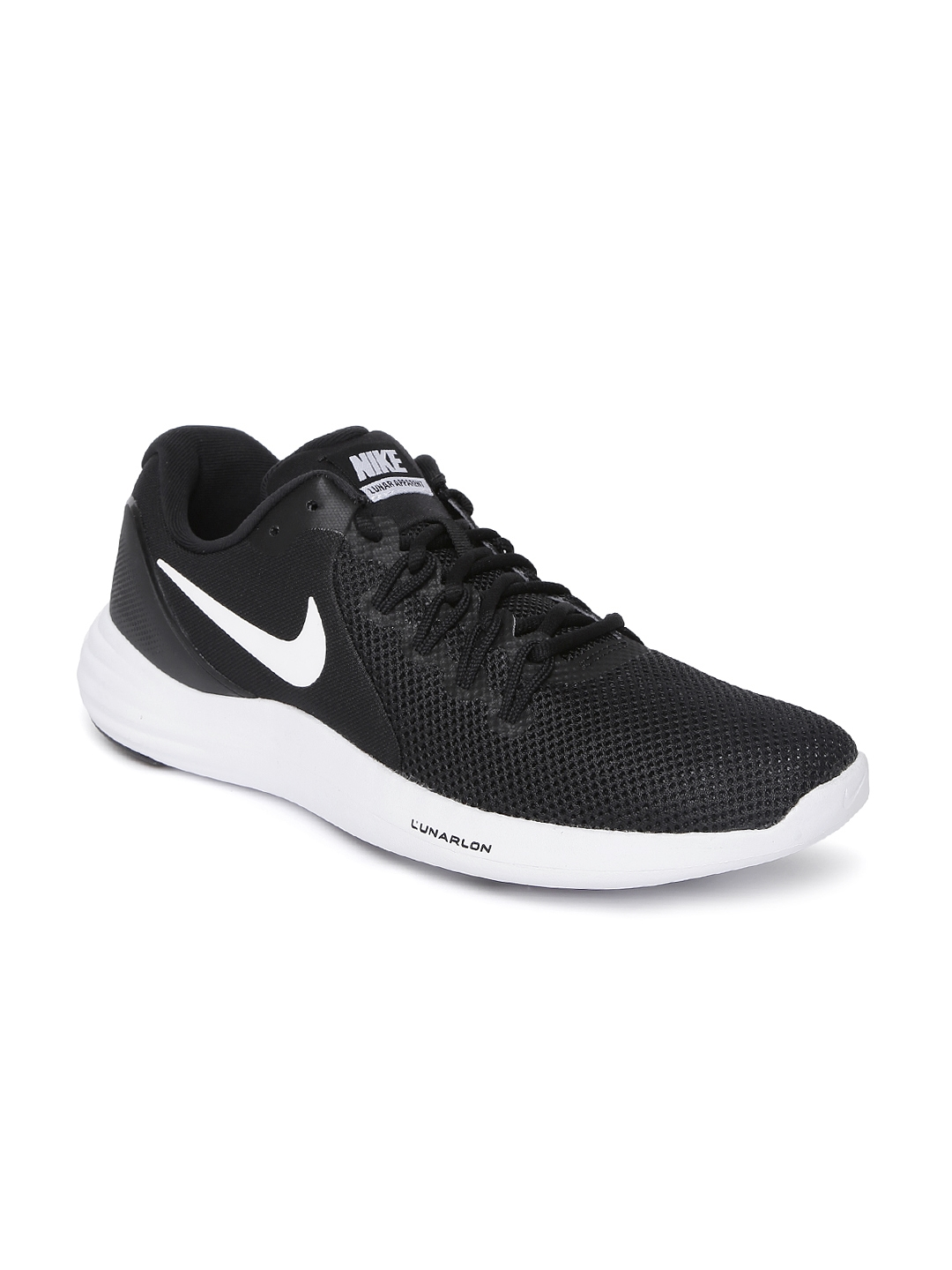 100% authentic aaa83 f65ac Nike Men Black LUNAR APPARENT Running Shoes