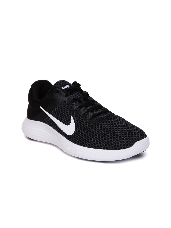 935160178bf Buy Nike Women Charcoal Grey LUNARCONVERGE 2 Running Shoes - Sports ...