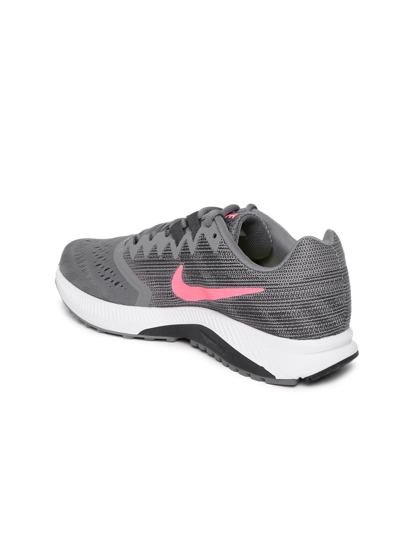 92cc04df0551 Buy Nike Women Grey WMNS NIKE ZOOM SPAN 2 Running Shoes - Sports ...
