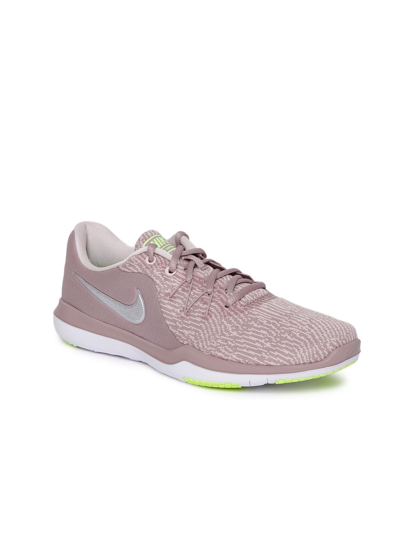 Buy Nike Women Mauve WMNS NIKE FLEX SUPREME TR 6 Training Or Gym ... 4482dc3b4