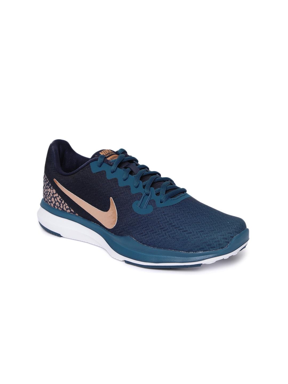 8c78384c1c7f3 Buy Nike Women Teal Blue W IN SEASON TR 7 PRNT Training Or Gym Shoes ...
