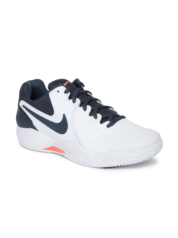 422cefa60bca Buy Nike Men White AIR ZOOM RESISTANCE Tennis Shoes - Sports Shoes for Men  2314888