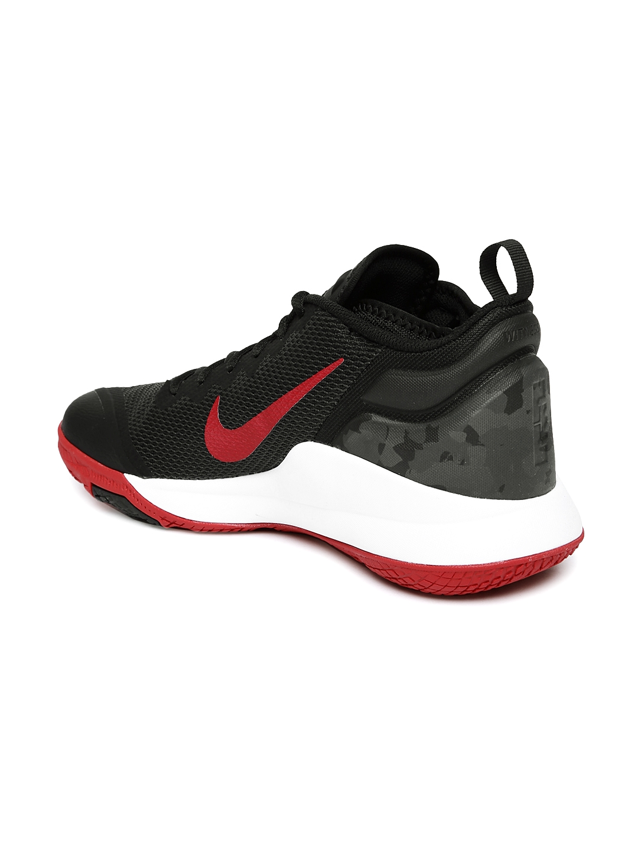 41f65e2fe4f ... uk nike men black lebron witness ii mid top basketball shoes 3ec0b 9bf15