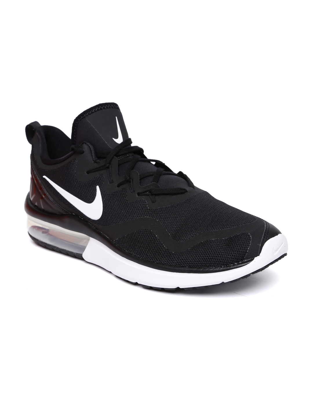 2d66a4cd0f4 Buy Nike Men Black AIR MAX FURY Running Shoes - Sports Shoes for Men ...