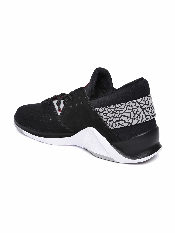 267f83605447 Buy Nike Men Black JORDAN FLIGHT FRESH PREM Suede Mid Top Basketball ...