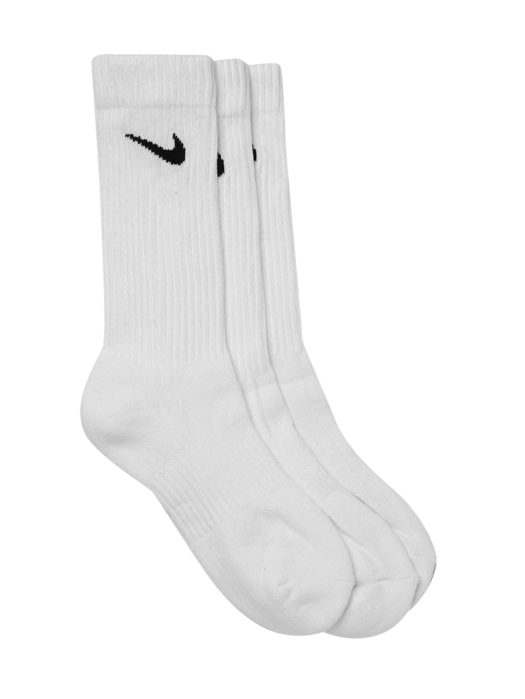 14bb5e6b3 Nike Unisex Pack of 3 Black Performance Cushioned Crew Socks