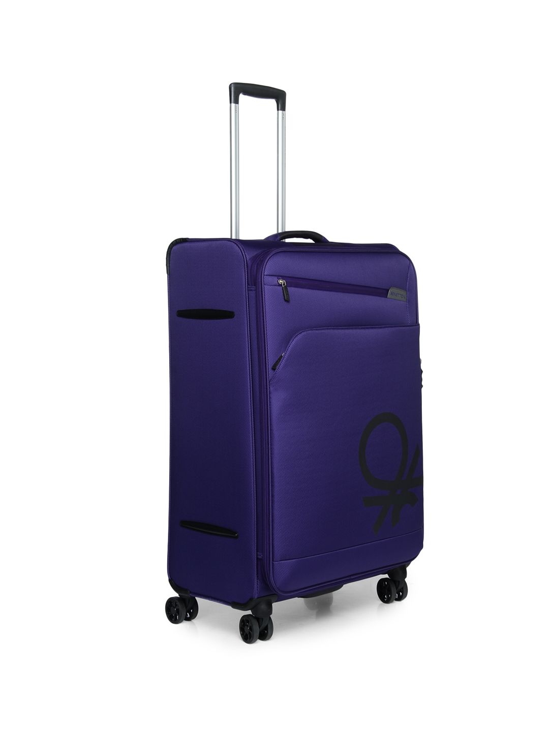 24761e68dcd4 Buy United Colors Of Benetton Unisex Purple Large Trolley Suitcase ...