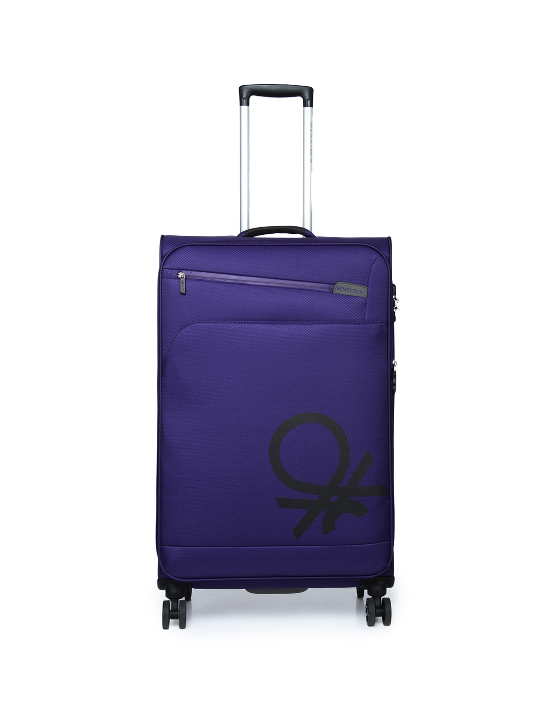 clearance sale nice cheap cheap for discount Buy United Colors Of Benetton Unisex Purple Large Trolley Suitcase ...