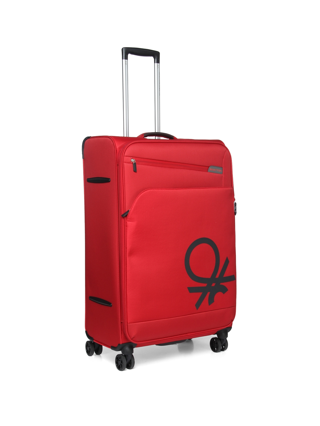 53892faed1fa Buy United Colors Of Benetton Unisex Red Large Trolley Suitcase ...