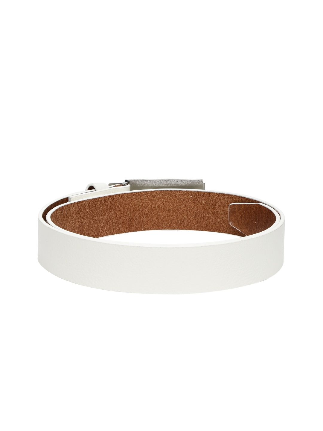 fdcac6b04a9c Buy Puma Men White Genuine Leather High Flyer Golf Belt - Belts for ...