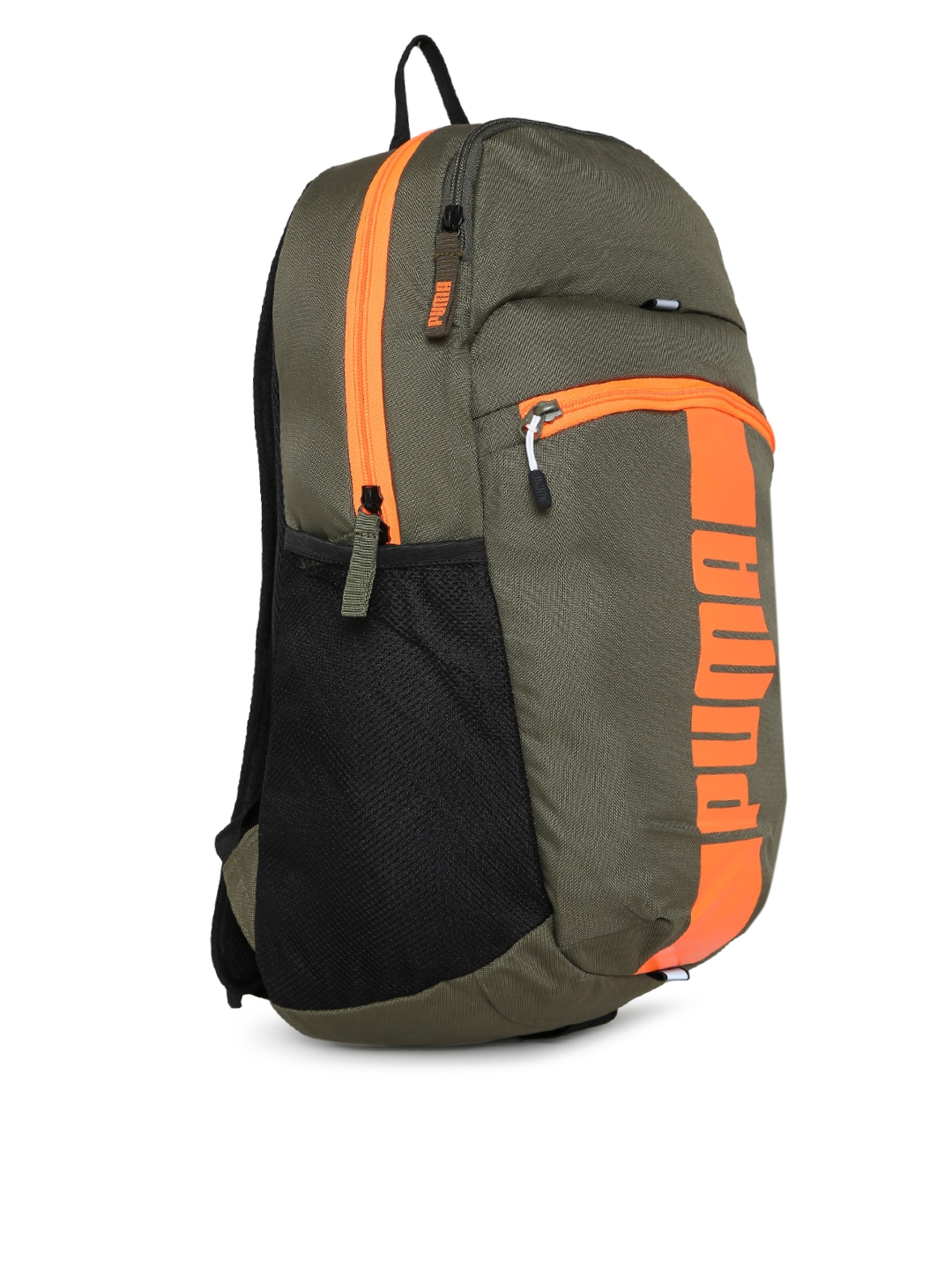 c78424a5a4 Buy Puma Unisex Olive Green Deck Backpack - Backpacks for Unisex ...