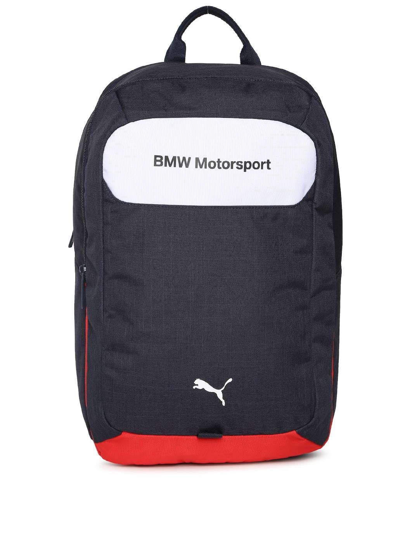 e7ac791d33 Buy Puma Unisex Blue Solid BMW Motorsport Backpack - Backpacks for ...