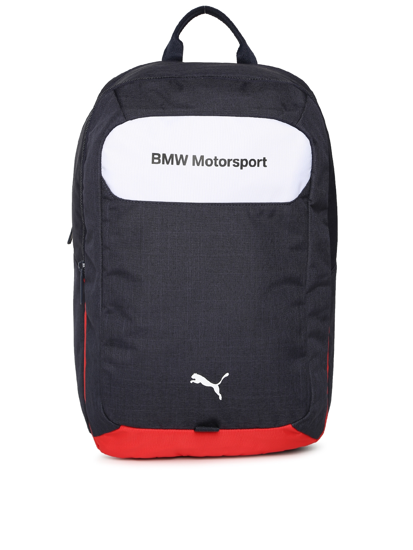 029464caaa8 Buy Puma Unisex Blue Solid BMW Motorsport Backpack - Backpacks for ...
