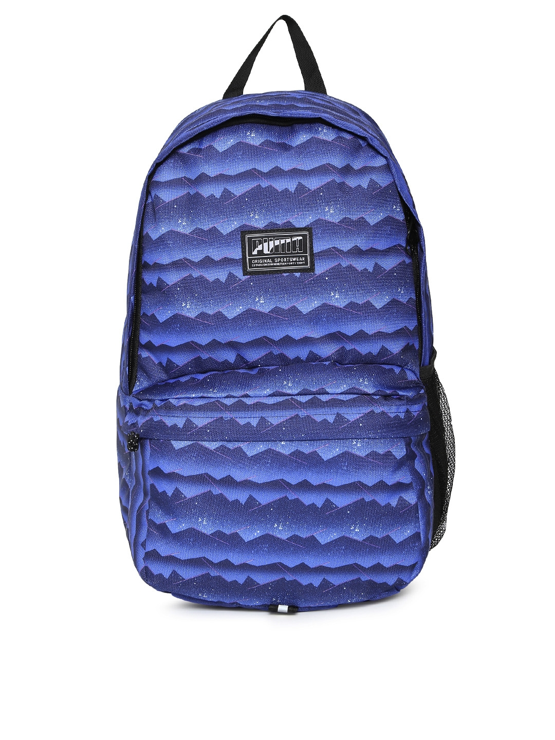 33d6a7e2f6294 Buy Puma Unisex Blue Printed Academy Backpack - Backpacks for Unisex ...