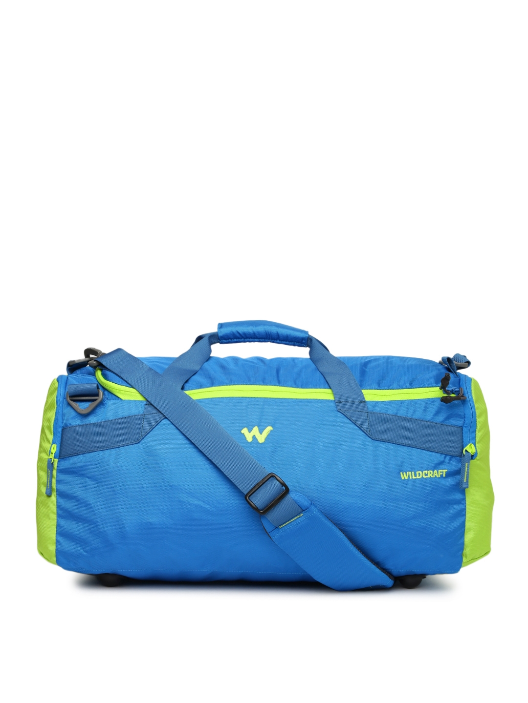 a2bd1b8896d1 Buy Wildcraft Unisex Blue Transit Medium Duffel Bag - Duffel Bag for ...