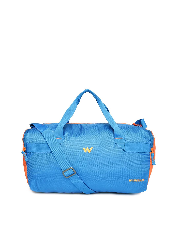 e77ebb1a267f Buy Wildcraft Unisex Blue Tour Medium Duffel Bag - Duffel Bag for ...
