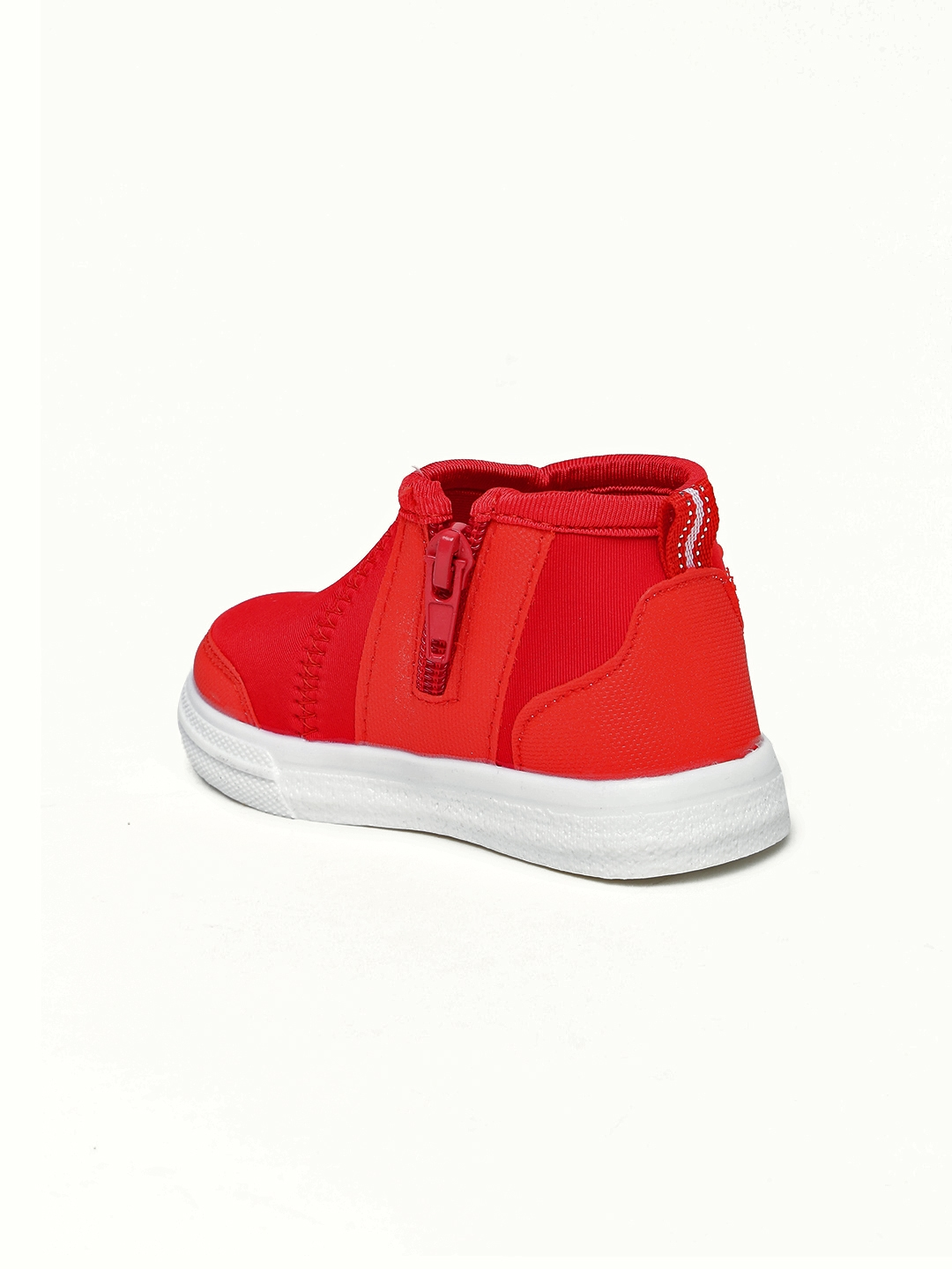 68816538 Buy Kittens Boys Red Solid Canvas Mid Top Sneakers - Casual Shoes ...