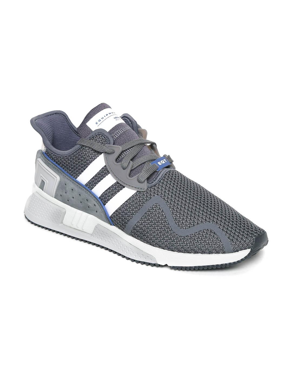 Adidas Originals Men Grey Eqt Cushion Advance Sneakers