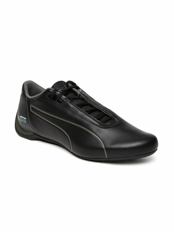 c2df9a0e5c7 Buy Puma Unisex Black MAMGP Future Cat Leather Sneakers - Casual ...