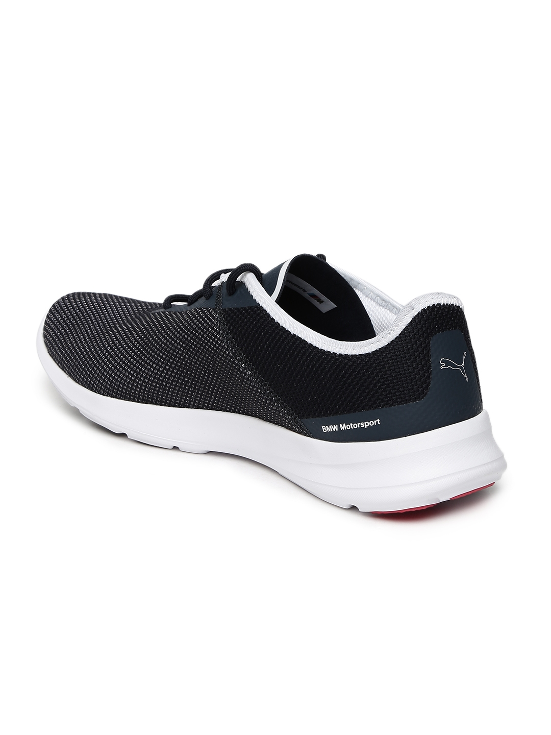 292bf8a0469 Buy Puma Unisex Navy Blue BMW MS Runner Sneakers - Casual Shoes for ...