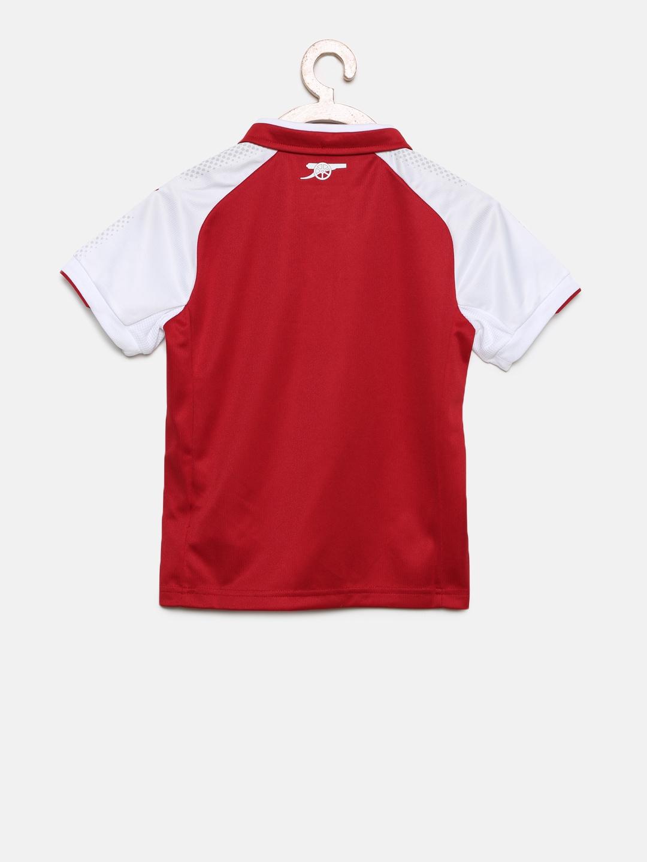 c0caa1a829c60d Buy Puma Boys Red   White Colourblocked AFC Kids Home Replica T ...