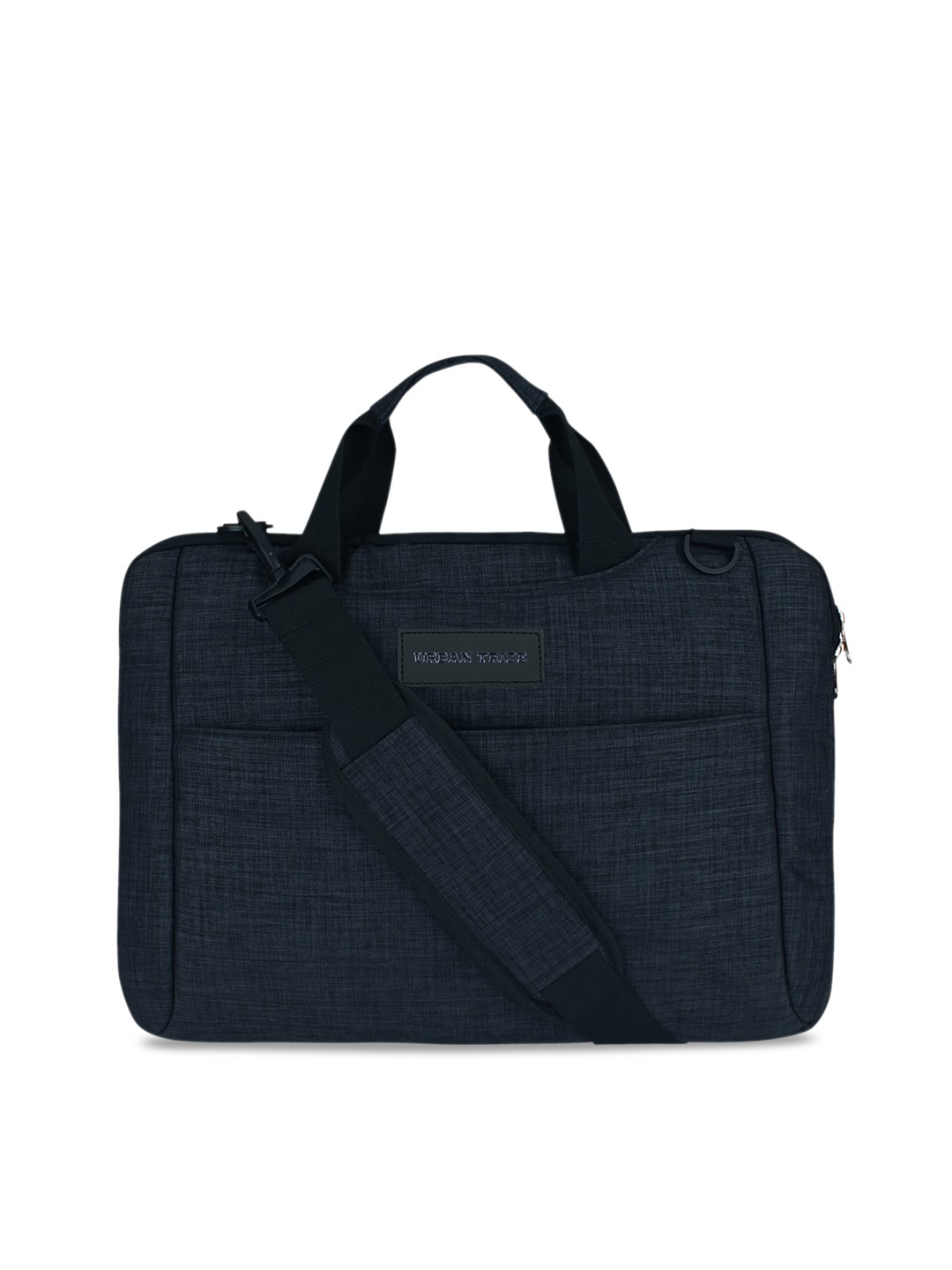 URBAN TRIBE Unisex Blue Solid Laptop Bag