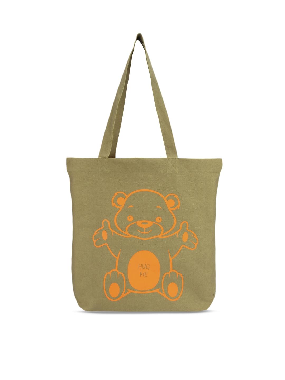 Vivinkaa Beige Printed Tote Bag Vivinkaa Handbags