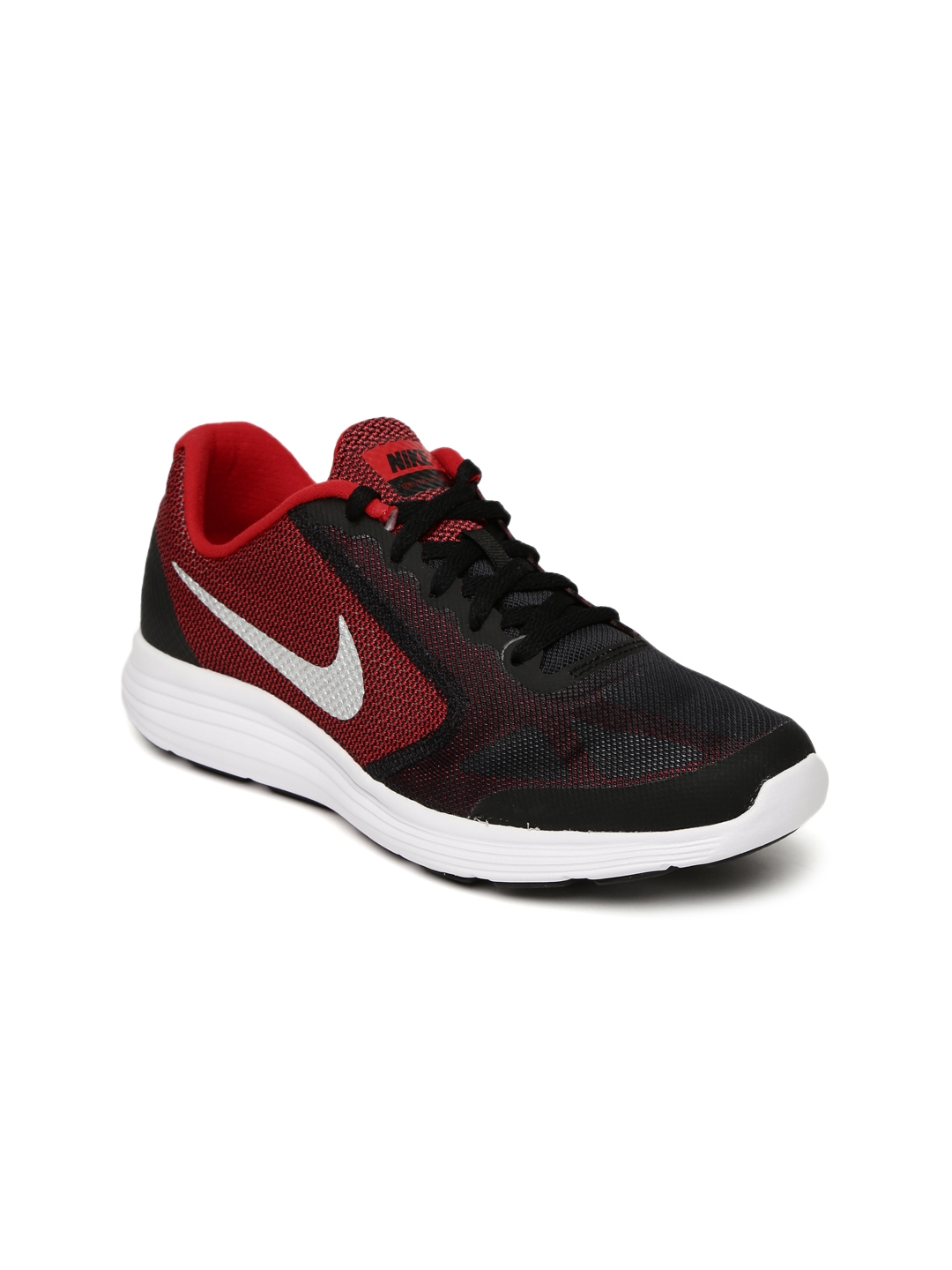 c6e56892a49 Buy Nike Boys Black Revolution 3 Running Shoes - Sports Shoes for ...