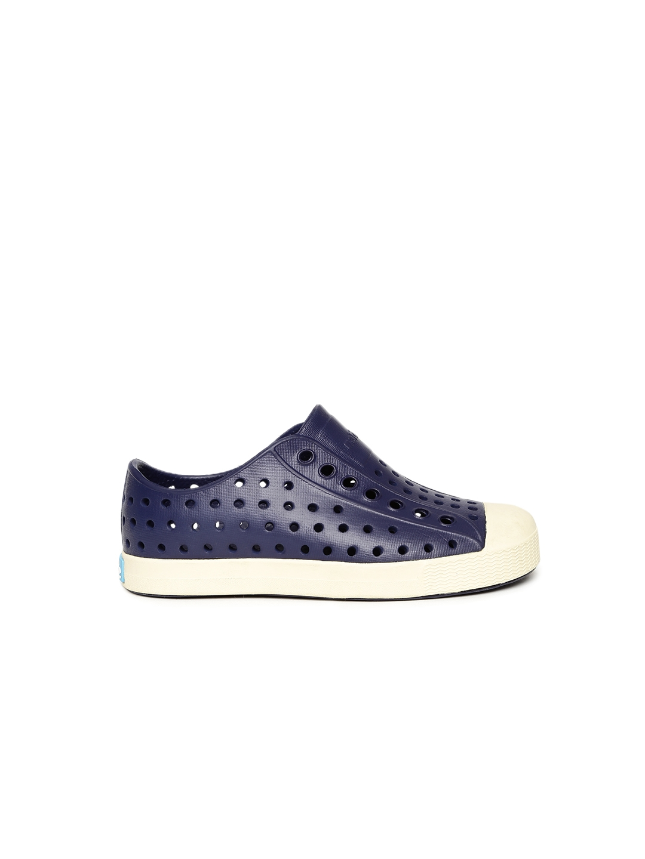 01f764ee4ba4fe Buy Native Shoes Kids Navy Blue Jefferson Slip On Sneakers - Casual ...