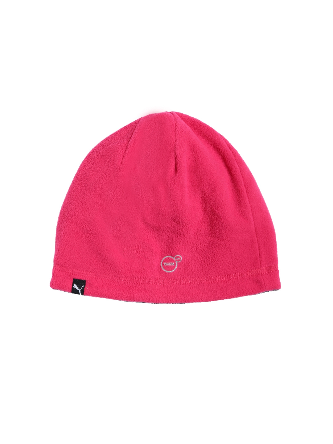 27bed048 Buy Puma Unisex Pink Solid ACTIVE Fleece Beanie - Caps for Unisex ...