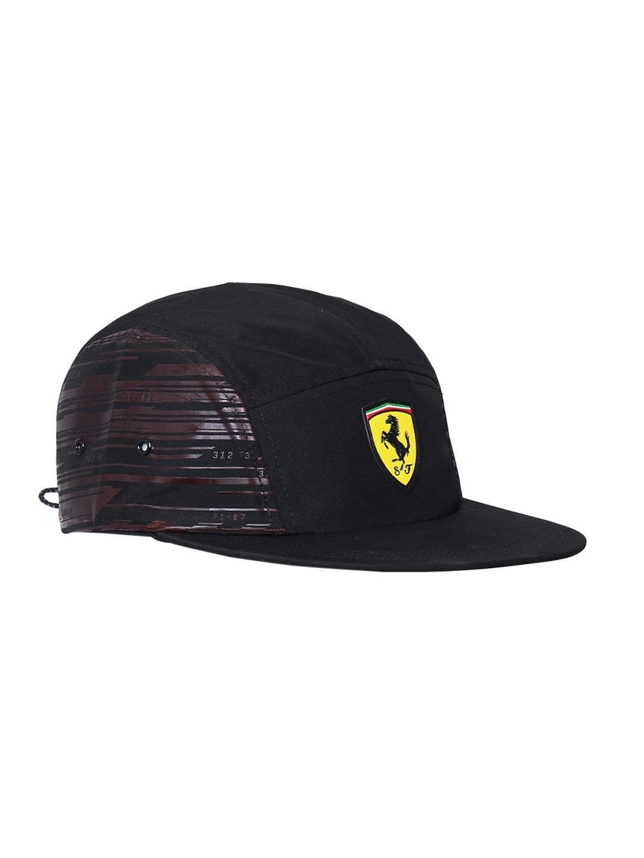 443650f9292e5d Buy Puma Unisex Black FERRARI Fanwear Transform Printed Cap - Caps ...