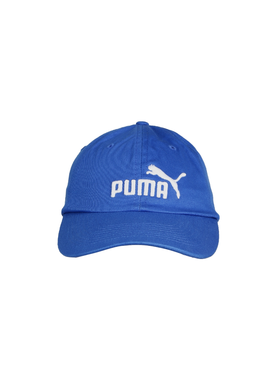 Buy Puma Unisex Blue ESS Baseball Cap - Caps for Unisex 2345285  a9846890a82