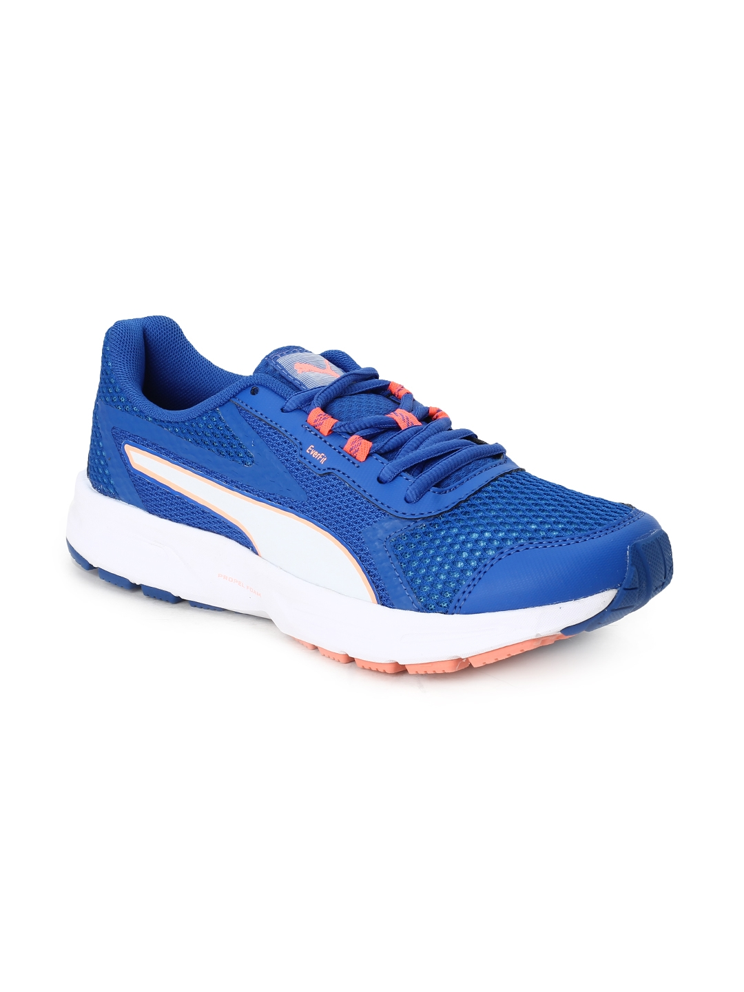 98c546d841fe Buy Puma Women Blue Mesh Mid Top Running Shoes Essential Runner Wn S ...