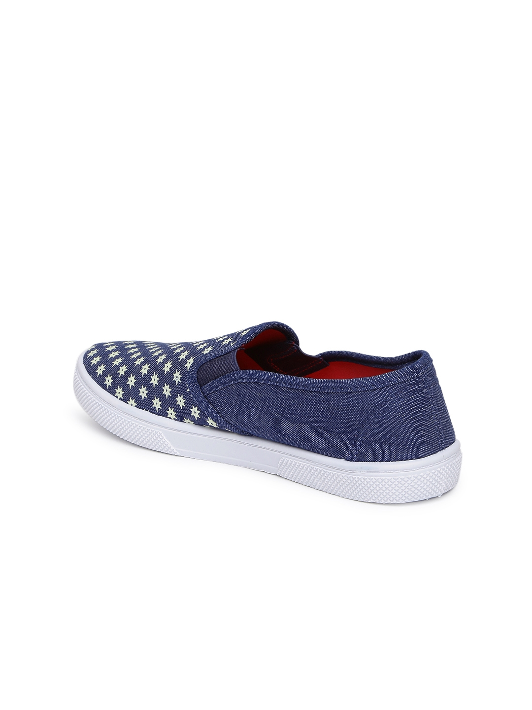 Buy Lavie Women Navy Blue Printed Slip On Sneakers - Casual Shoes ... 3dc5f07d3c6