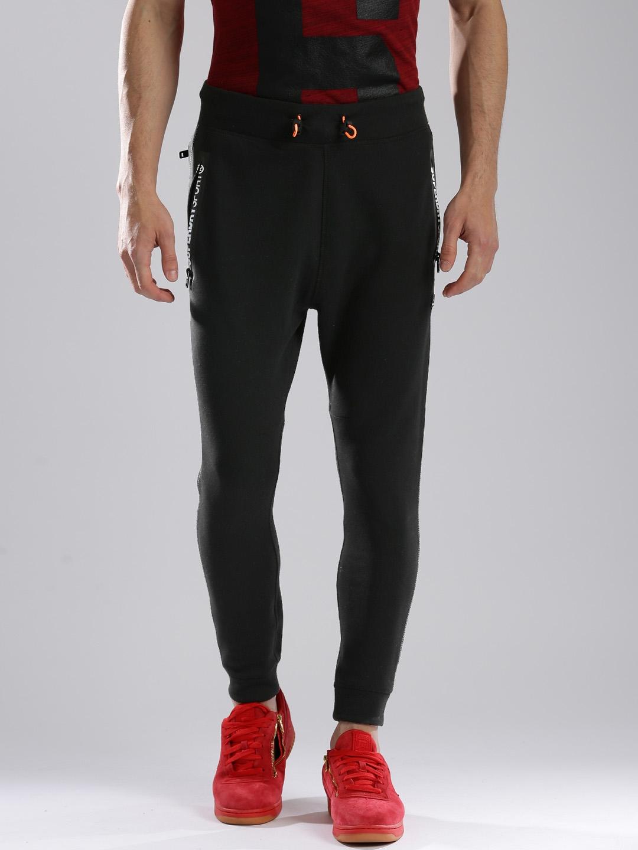 8e2bf8909bb942 Buy Superdry Black GYM TECH SLIM Joggers - Track Pants for Men ...