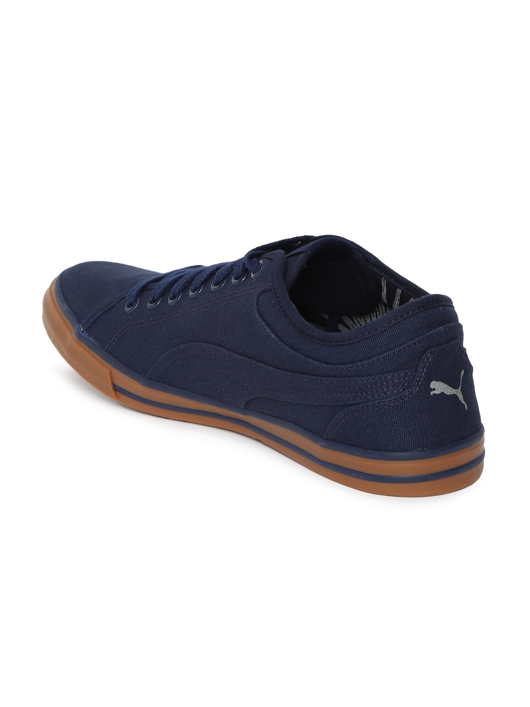 18ec8c2e3043 Buy Puma Unisex Navy Blue Yale Gum Solid IDP Sneakers - Casual Shoes ...