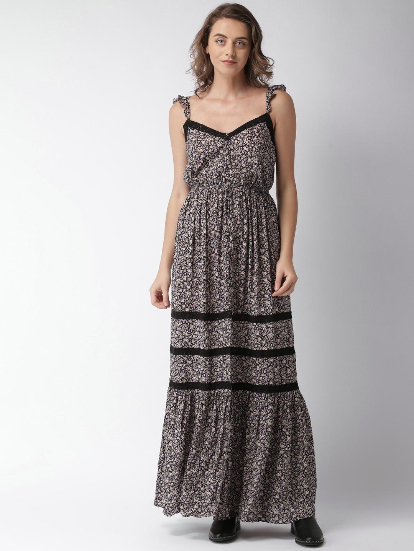 e52091f5b7b8d9 Black Maxi Dress Forever 21