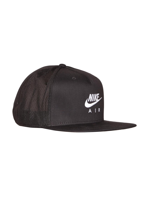 928e3372cd8 Buy Nike Unisex Black NSW Pro AIR Solid Cap - Caps for Unisex ...