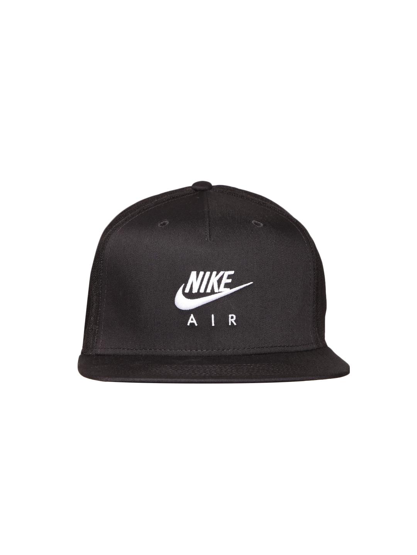 3853ca6d4a5 Buy Nike Unisex Black NSW Pro AIR Solid Cap - Caps for Unisex ...