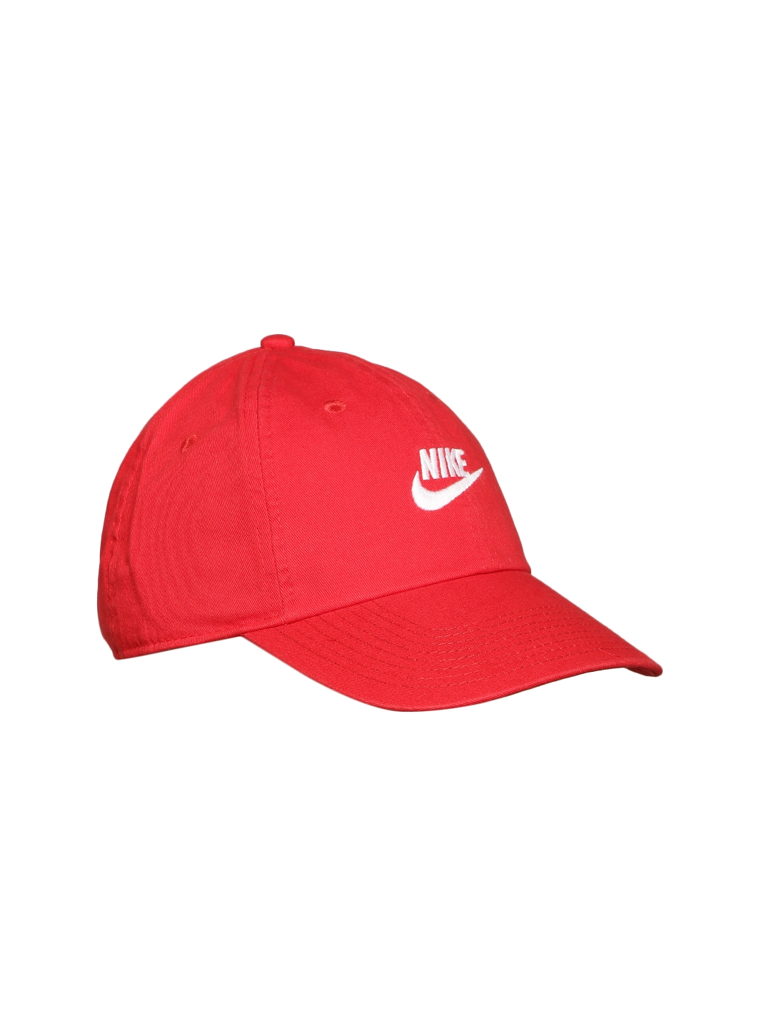 huge selection of 37a74 9d3bd Nike Unisex Red NSW H86 Futura Washed Solid Cap