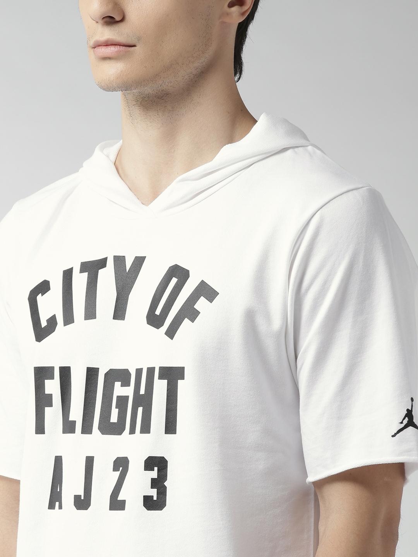 736de4ca Buy Nike White JSW COF S/S Hooded T Shirt - Tshirts for Men 2364438 ...