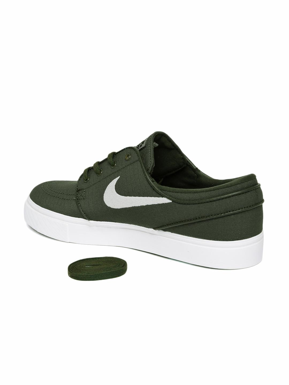 Buy Nike Men Olive Green ZOOM STEFAN JANOSKI Skate Shoes - Casual ... 02d34f0c2