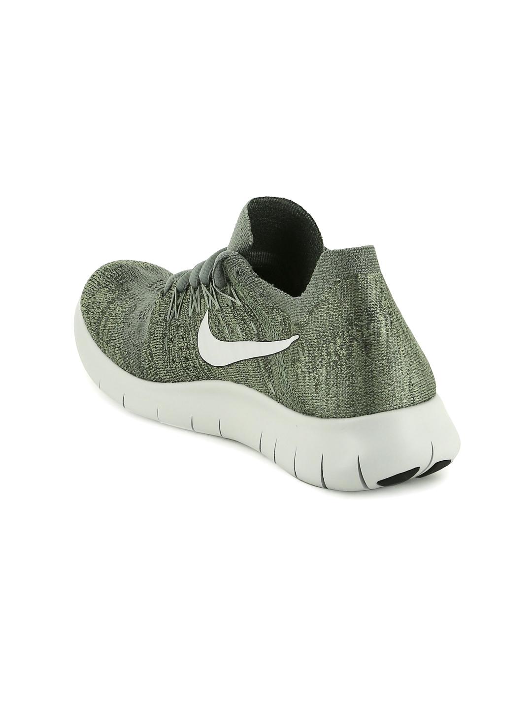 2d1b46ebd7c5 Buy Nike Women Olive Green FLYKNIT 2017 Running Shoes - Sports Shoes ...